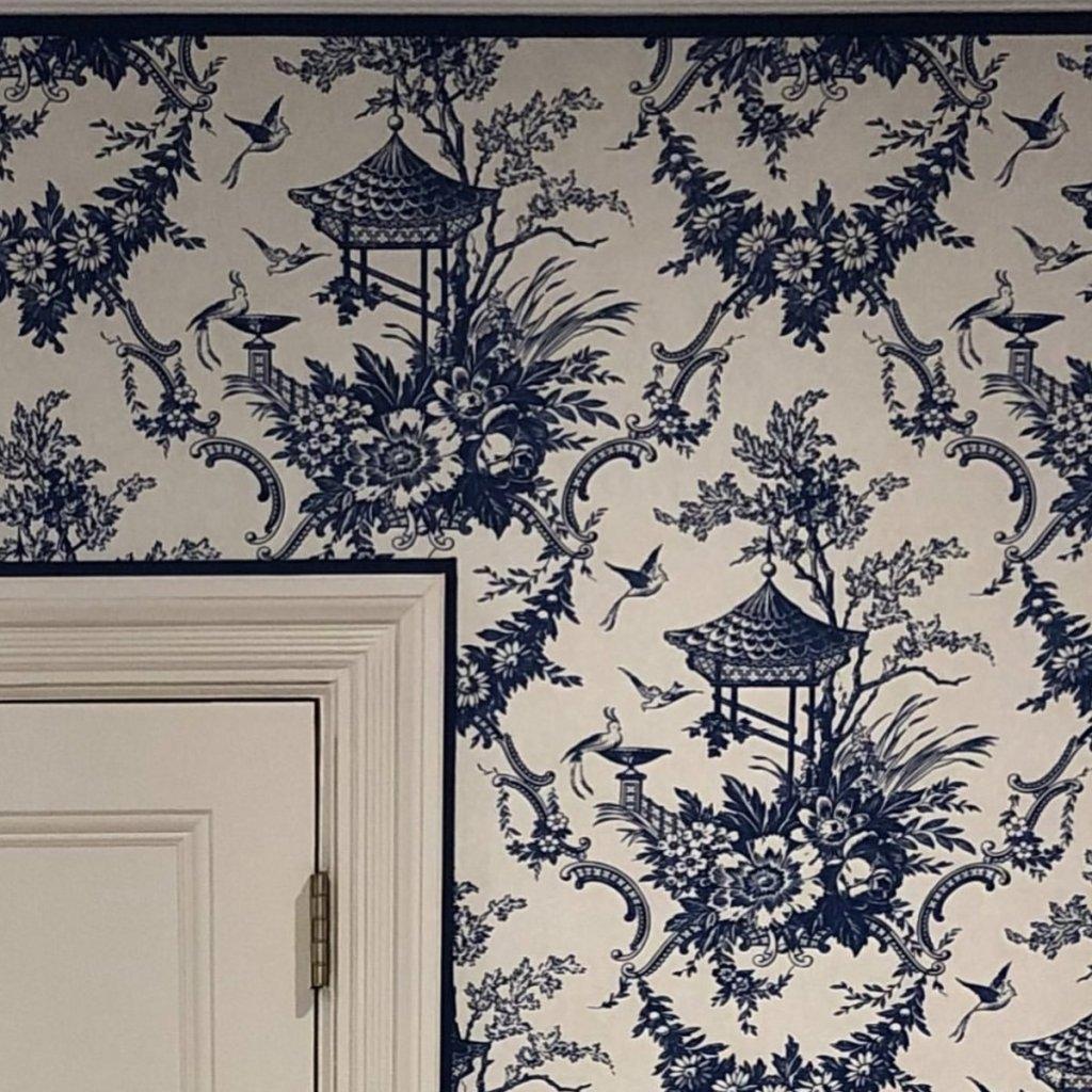 Peking - Hand Printed Wallpaper