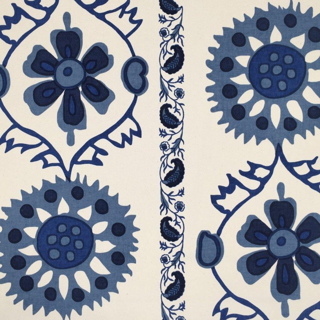 SIMLA STRATTON COTTON NATURAL - BLUE A119 B16 C12